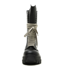 Lace-up Bozo Tractor leather boots