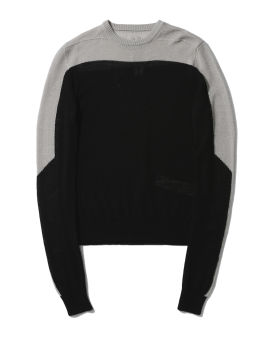 Biker crew neck sweater