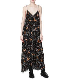 Risty spark flower print dress